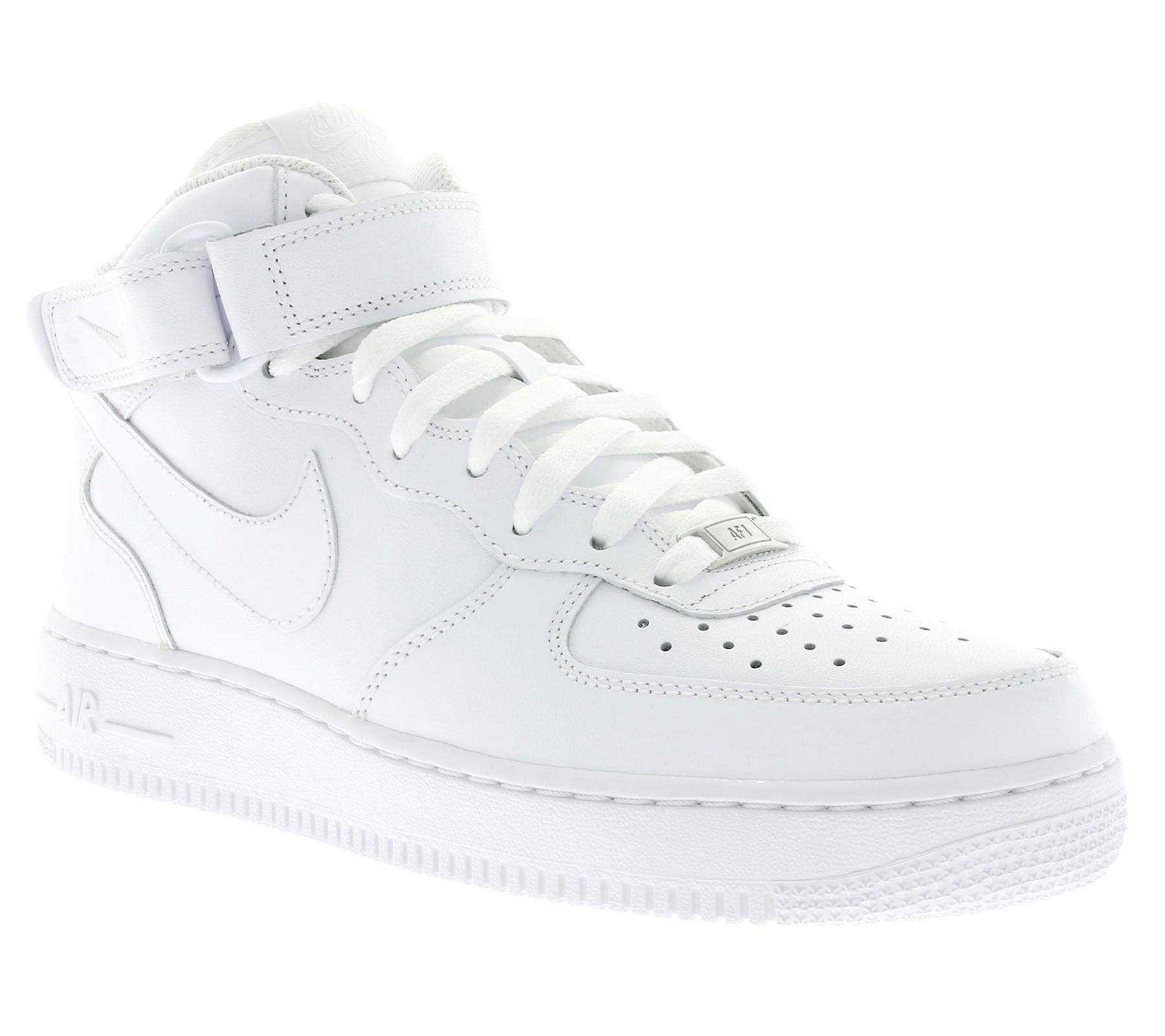 NIKE air force 1 MID ' 07 schoenen heren sneakers wit 315123 111