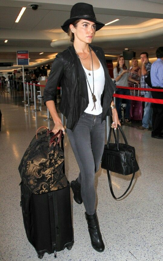 Nikki Reed airport style  cfcba56f21aff