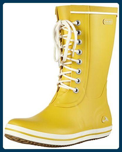 separation shoes bd553 952c1 Viking Retro Light, Damen Halbschaft Gummistiefel, Gelb ...