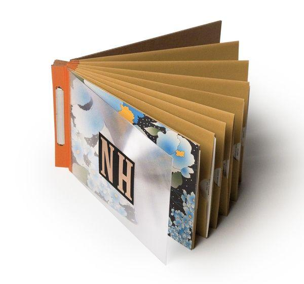 Pretty nice DIY portfolio using envelopes and duct tape :) | DIY ...