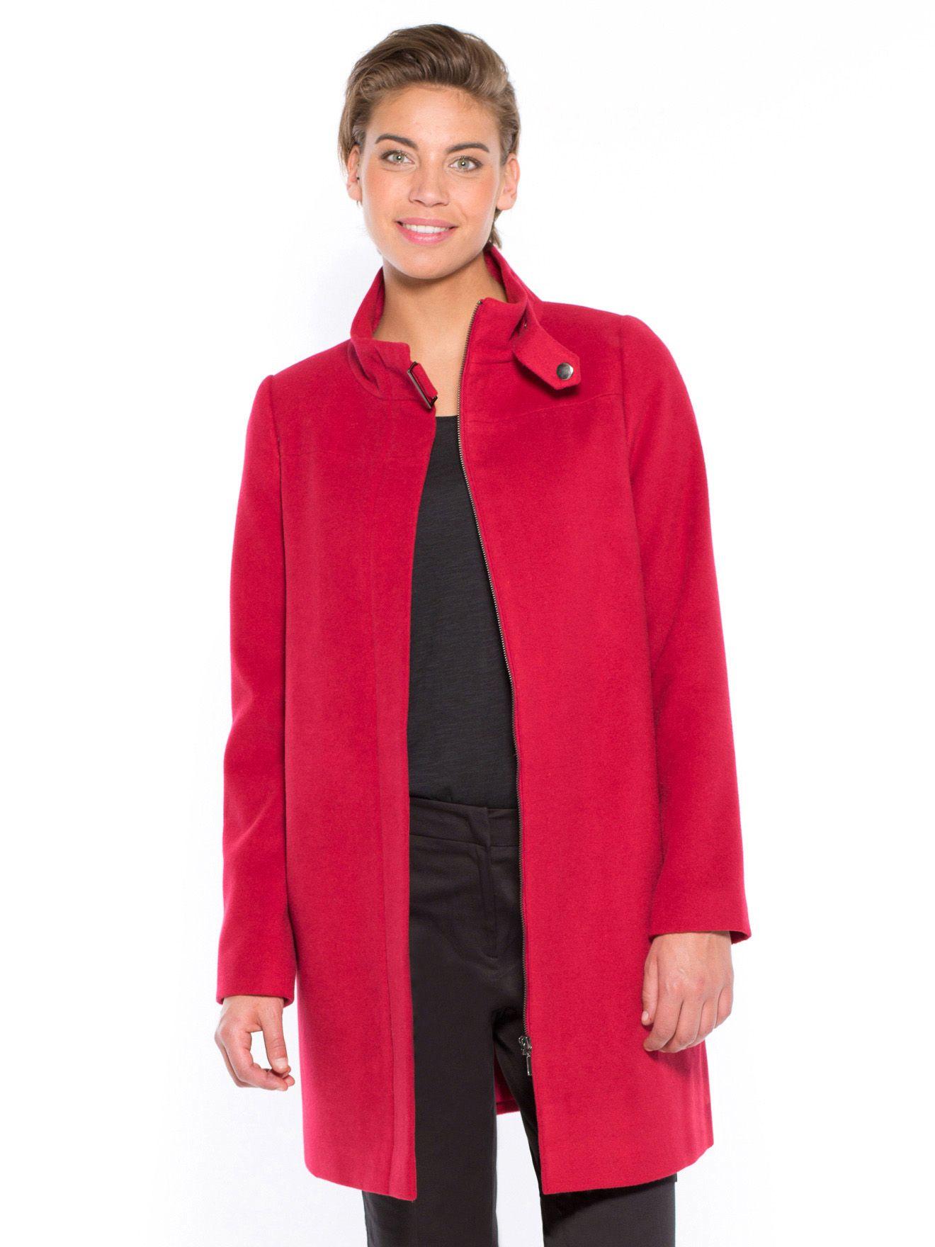 Manteau col montant zippé-Silhouettes Morpho A-BALSAMIK   balsamik.fr