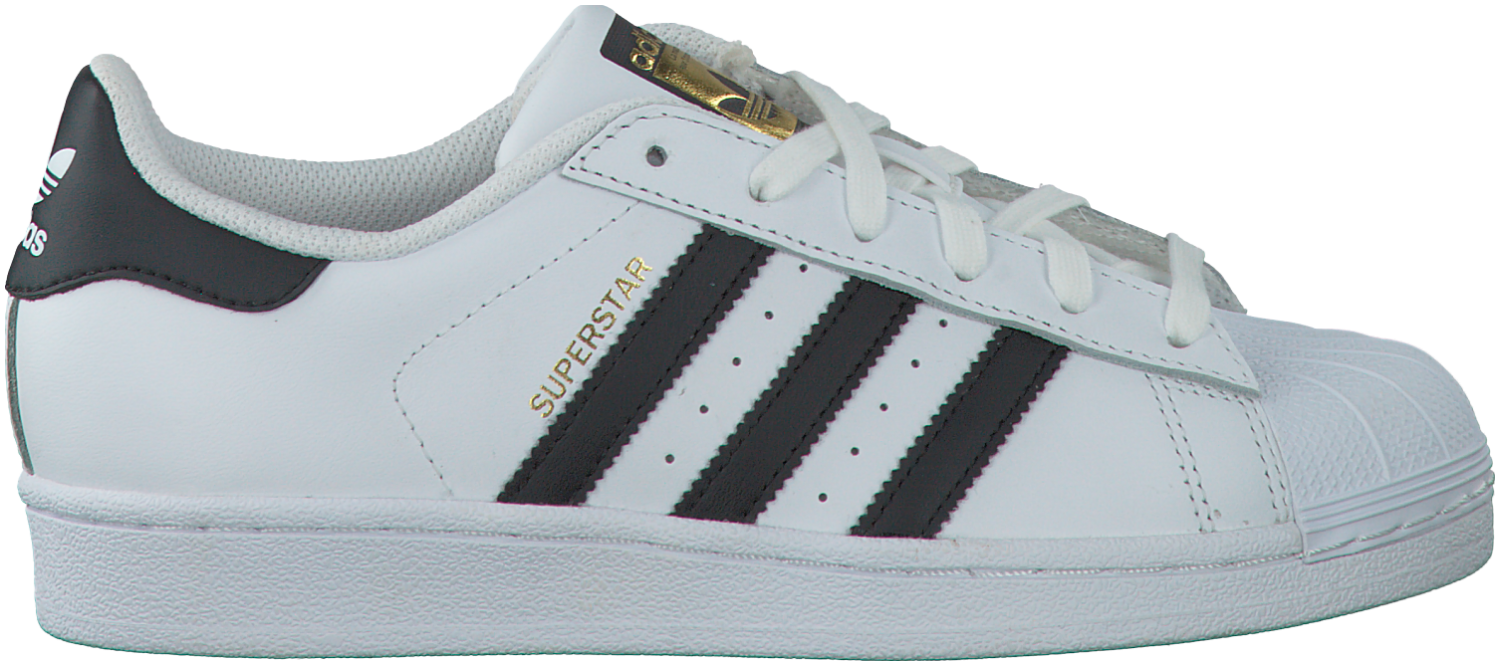 Witte Adidas Sneakers SUPERSTAR DAMES - Nike mode, Adidas en ...