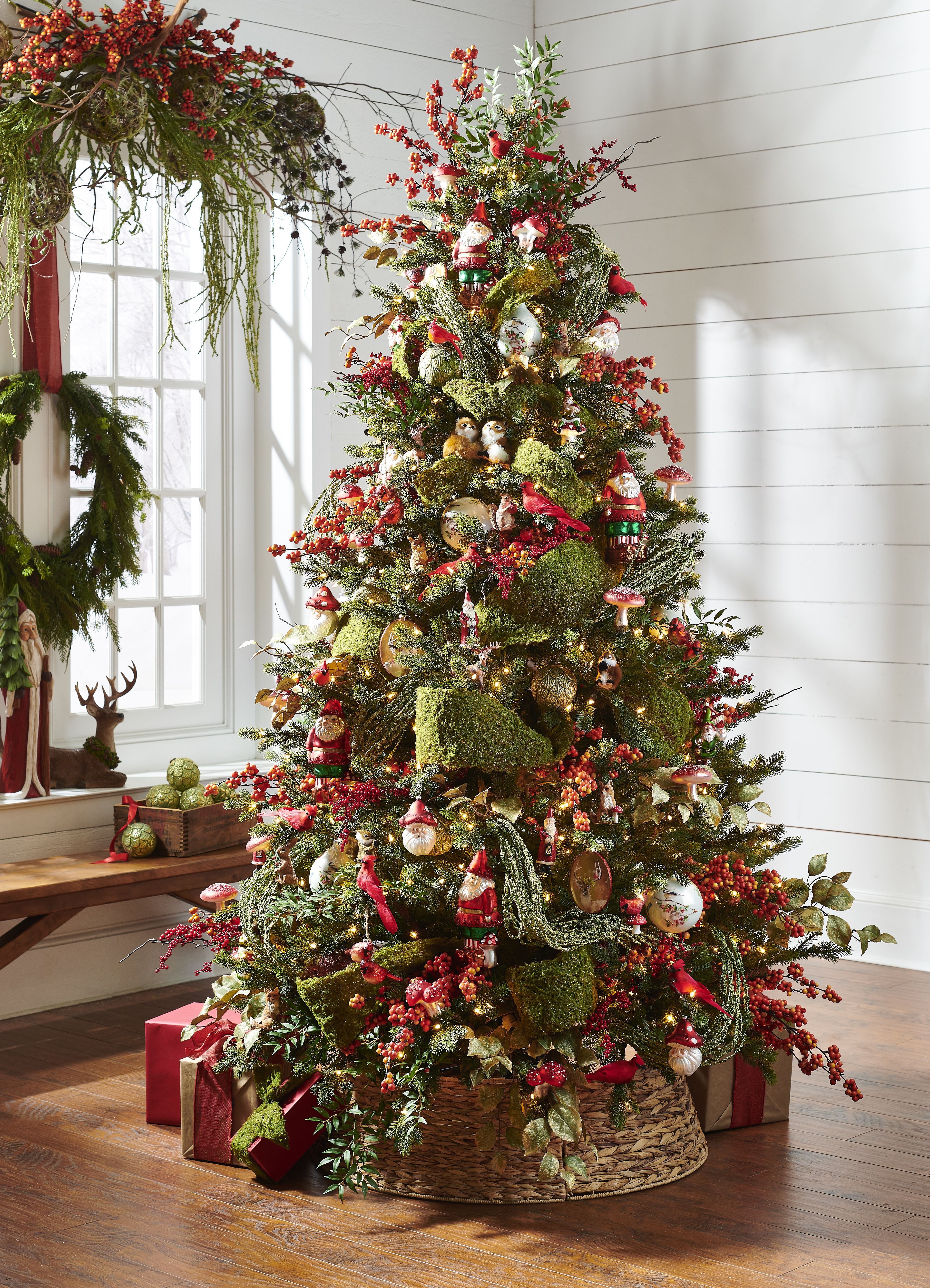 Through The Woods In 2020 Christmas Lodge Woodland Christmas Theme Woodland Christmas Tree