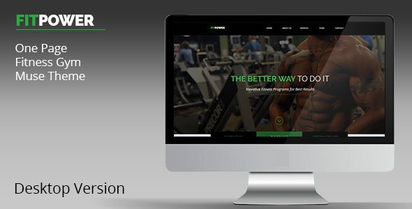 Fitpower One Page Muse Template (Landing) - http://wpskull.com/fitpower-one-page-muse-template-landing/wordpress-offers