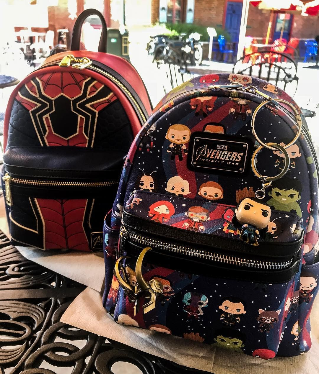 18281ddfff In LOVE with my new Avengers Infinity War Loungefly backpacks  loungefly   loungeflybackpack  loungeflymarvel