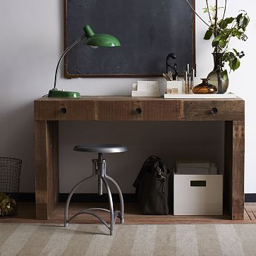 west elm office. Emmerson Desk Made From Reclaimed Wood West Elm Office
