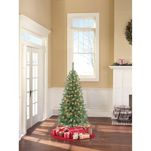 $20 Holiday Time Pre-Lit 5' Harrison Pine Artificial Christmas Tree, Clear Lights
