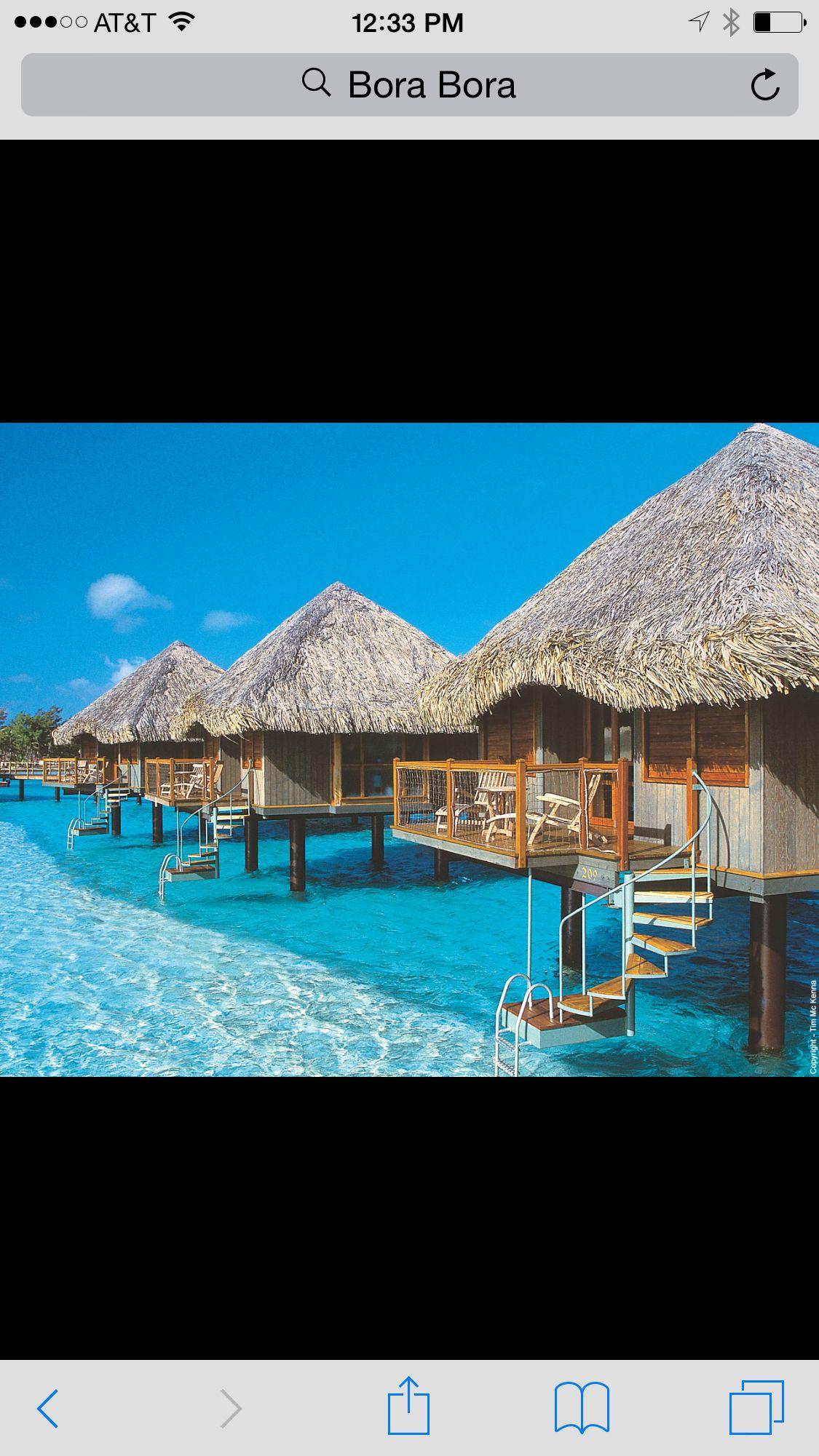 I need to go here!  Bora Bora
