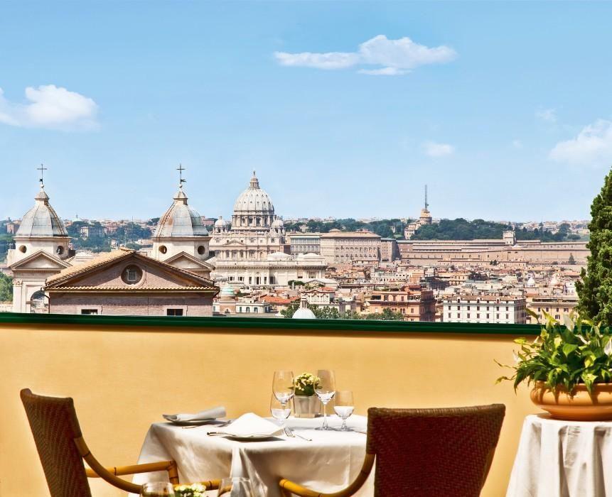 Restaurant La Terrazza dell\'Eden | Fine dining in Rome | Hotel Eden ...