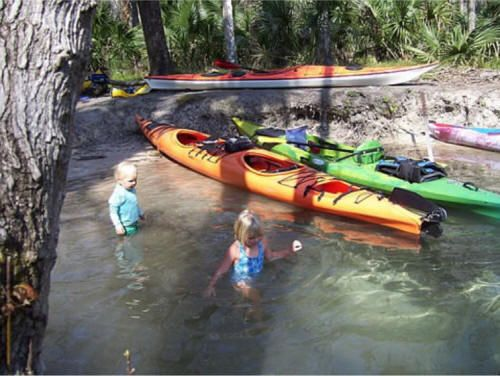 really good article on serious paddle camping with kids