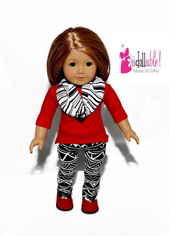 "18/"" Doll Clothes Black Leggings fits 18/"" Doll Clothes Leggings Black"