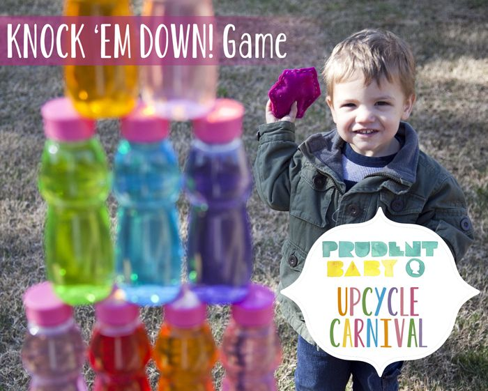 Upcycle carnival knock em down game party themes crafts upcycle carnival knock em down game diy solutioingenieria Gallery