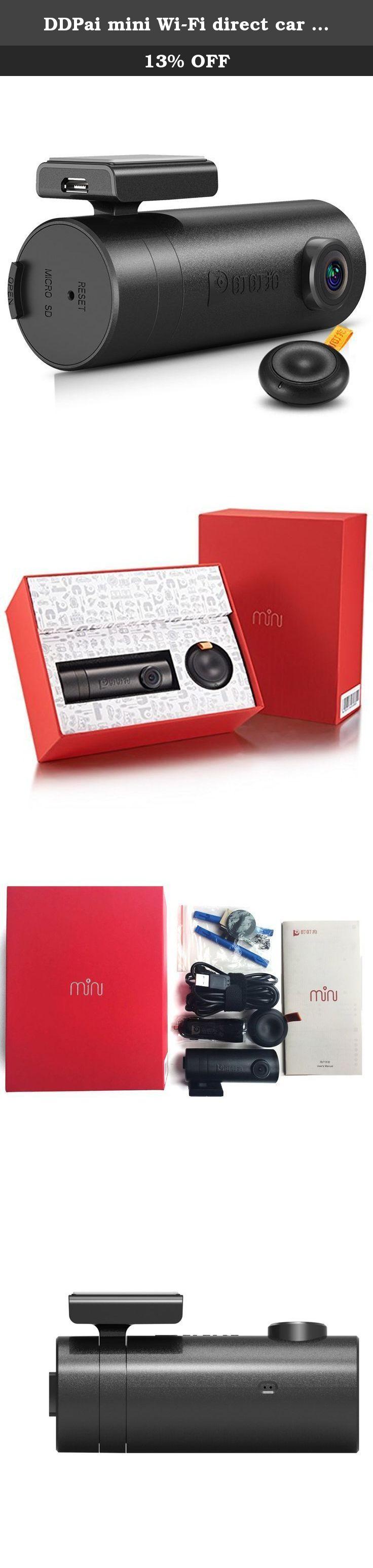 DDPai mini WiFi direct car DVR recorder Full HD 1080P