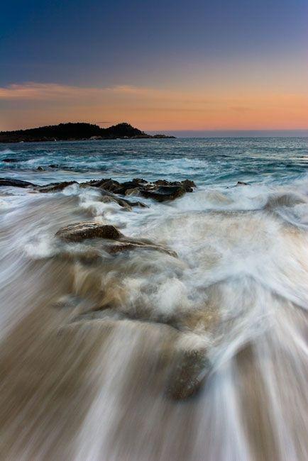 Carmel Beach California Ca Usa
