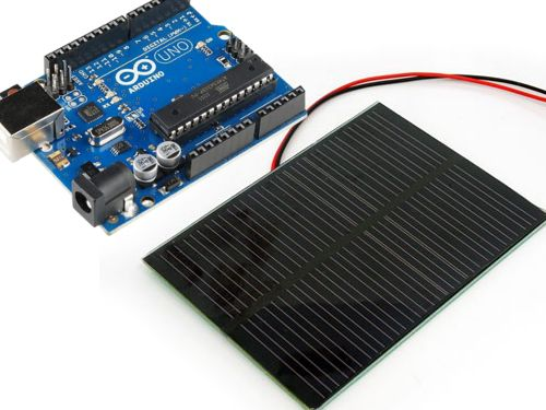 Want to run an arduino uno from solar panels https