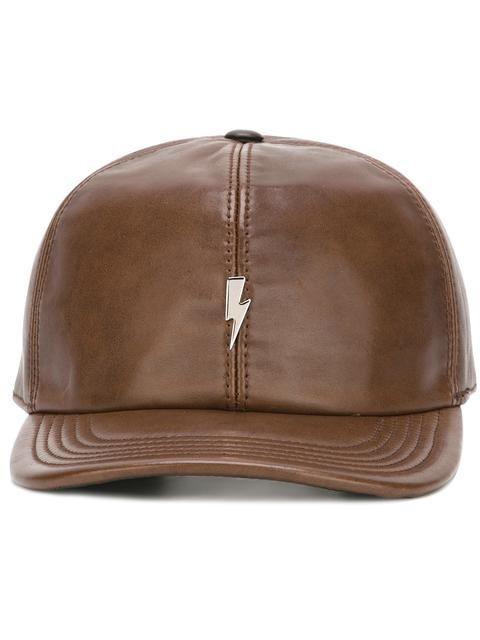 fb8b9e4f6a9 NEIL BARRETT lightning bolt baseball cap.  neilbarrett  cap