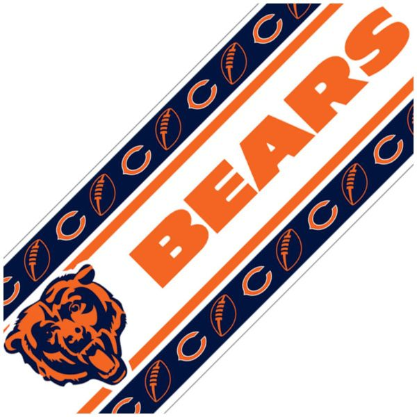 Product Image Nfl Chicago Bears Football SelfStick Wall
