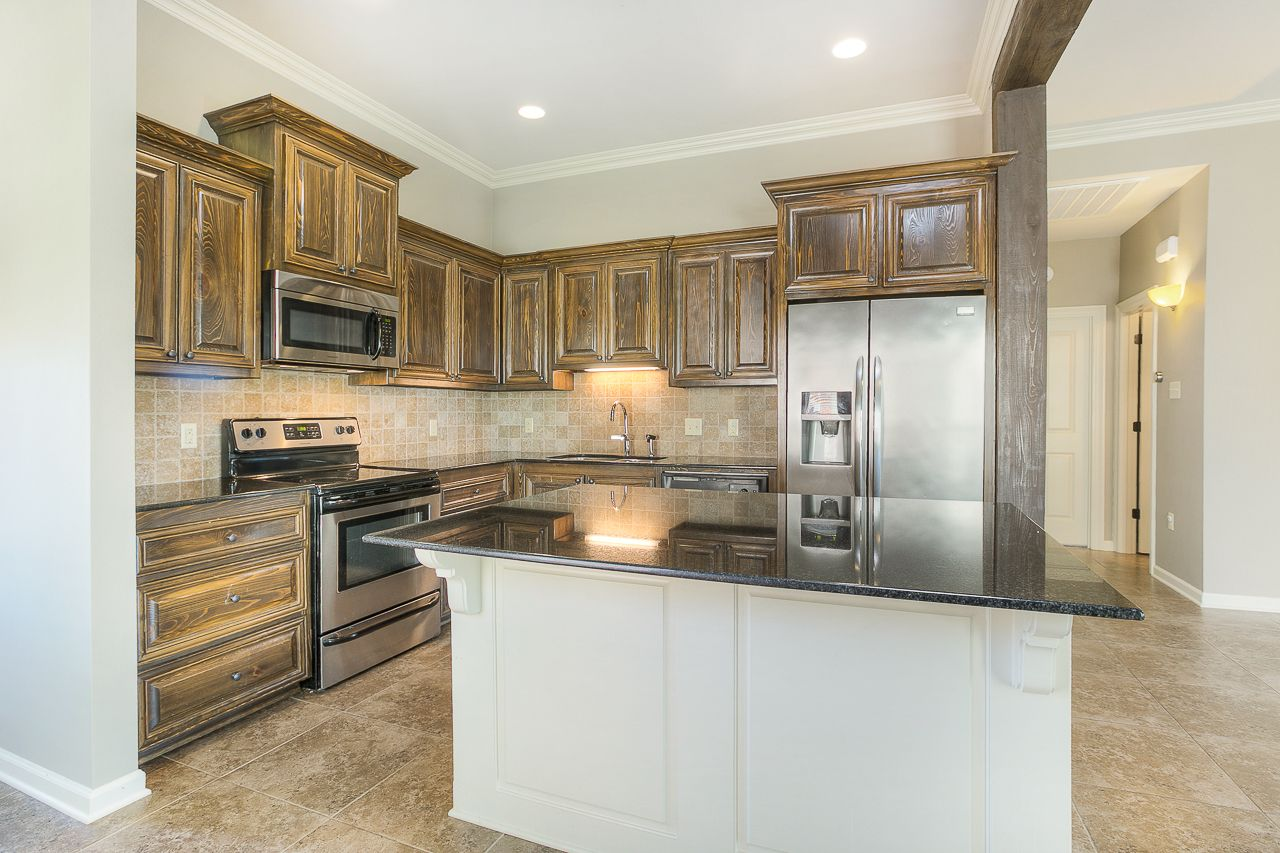 Beautiful Cypress Cabinets In This St Gabriel Home Home ...