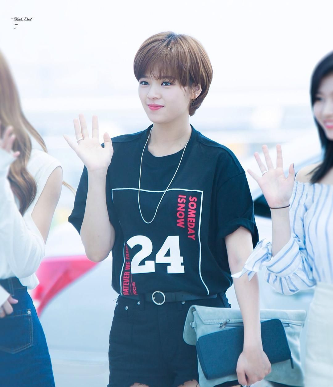 Jeongyeon Airport Fashion Twice Airport Fashion Nayeon Airport Fashion Jeongyeon 2016 Kpop Idol Airport Fashion Idol Air Airport Style Twice Kpop Fashion