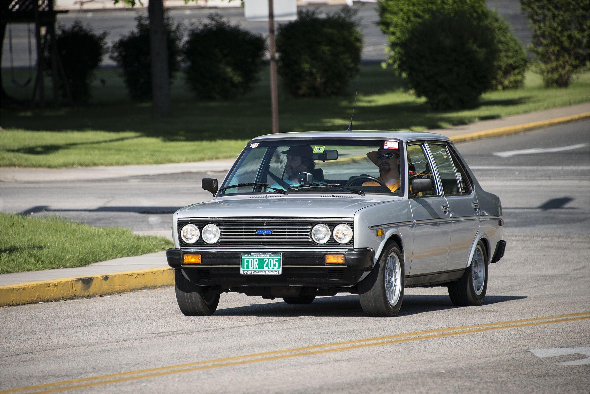 Fiat 131s Supermirafiori 1978