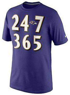 Nike Baltimore Ravens Knows Men's NFL Tee Shirt