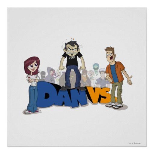 Big Save On Dan Vs. Key Art Posters Dan Vs. Key Art