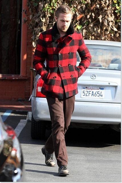 ryan gosling - this guy makes no mistakes in his choice of clothes