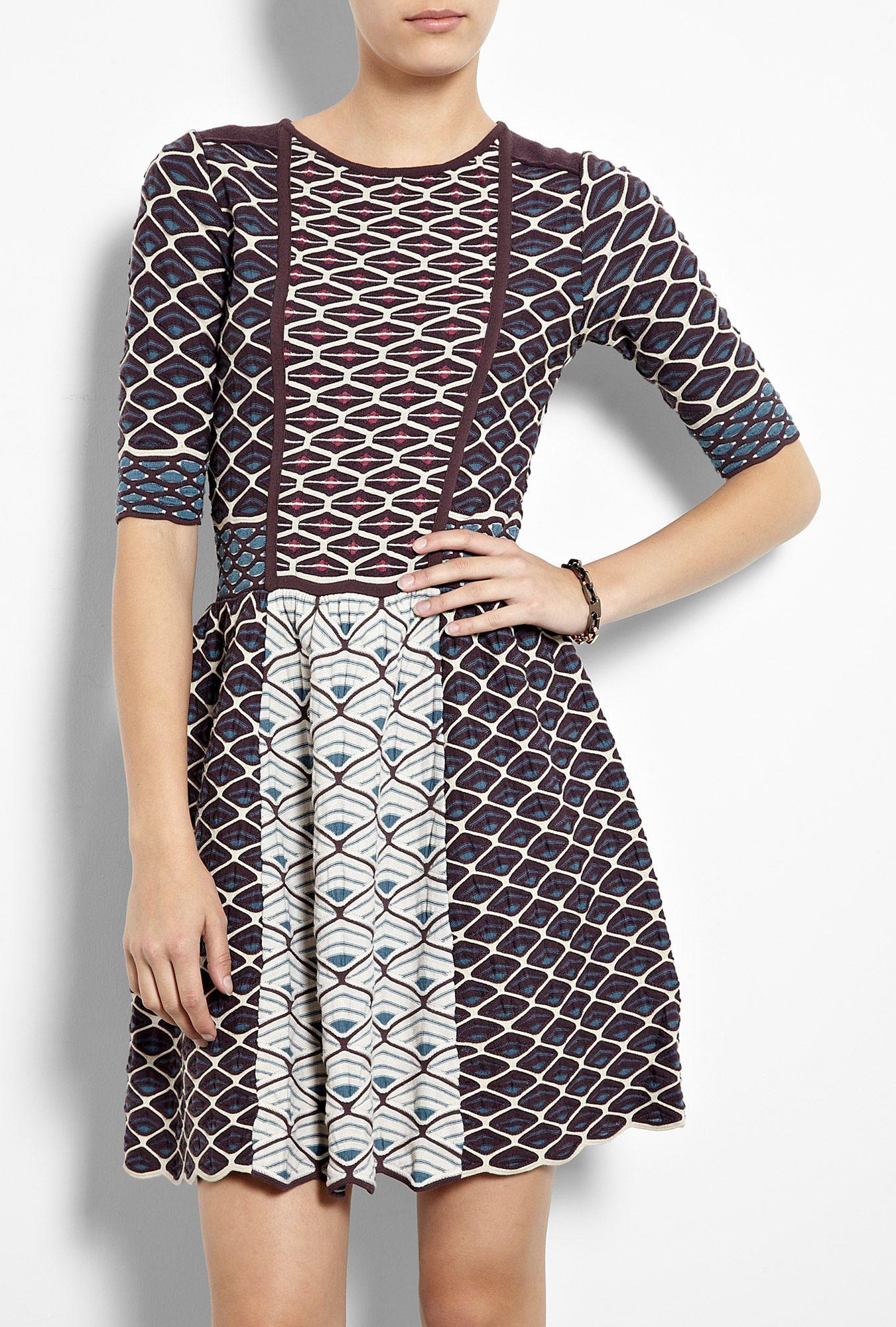 6a5b2cf140fa Shell Collage Knit Dress by M Missoni.....uh