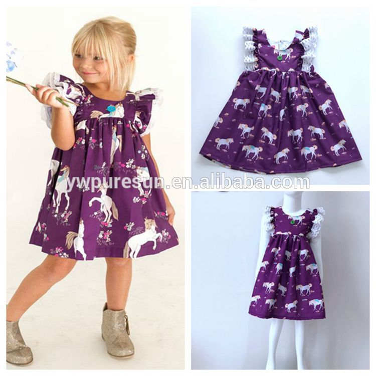 Unique baby girl dress names images dress and funny horse kids suits  flutter dress from wholesale clothing distributors China eead6e163a