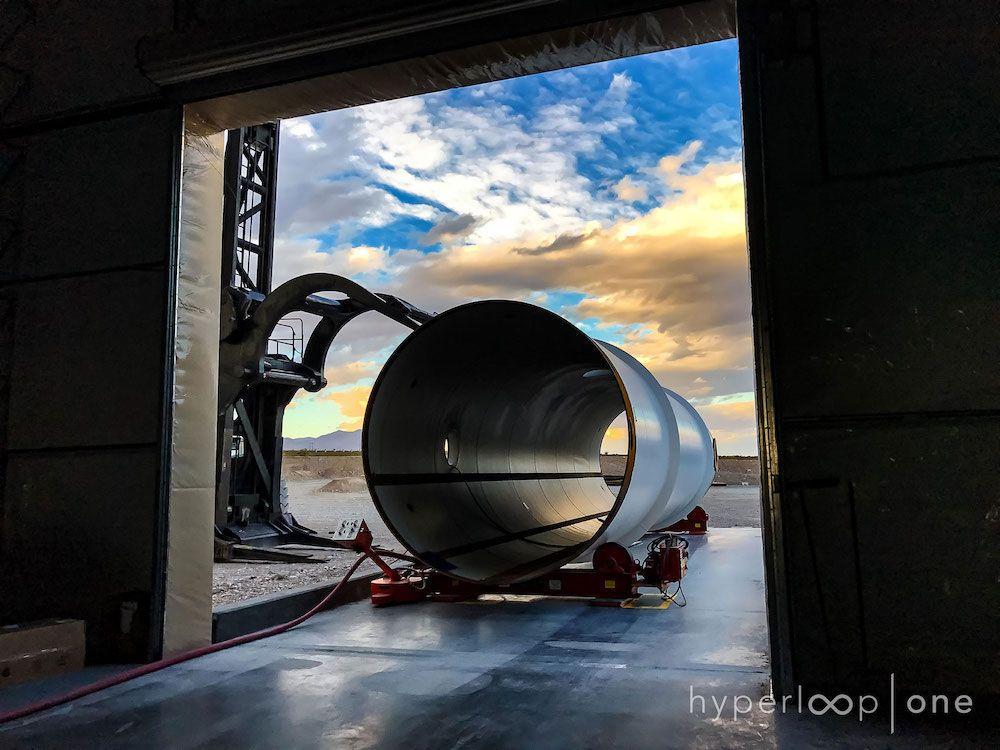 In Photos: Building the Superfast 'Hyperloop One' Transit System of the Future