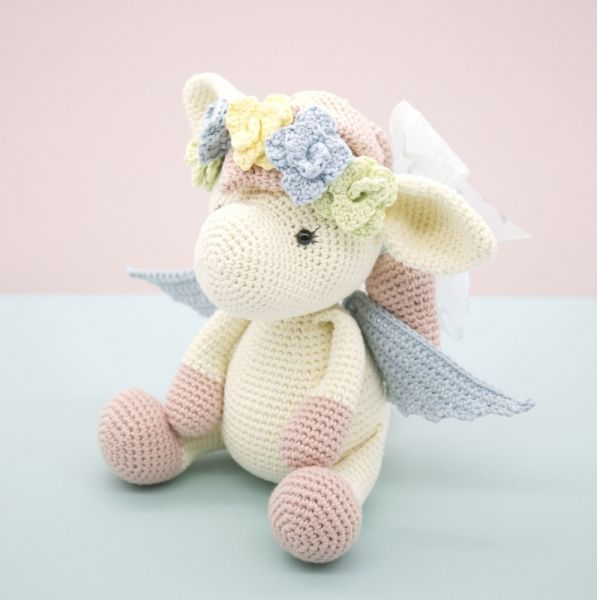 Harriet the Pegasus amigurumi pattern by LittleAquaGirl | Unicornios ...