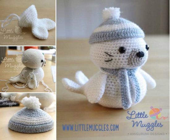 Lovely Amigurumi Doll, Animal, Plant, Cake and Ornaments Pattern ... | 453x550