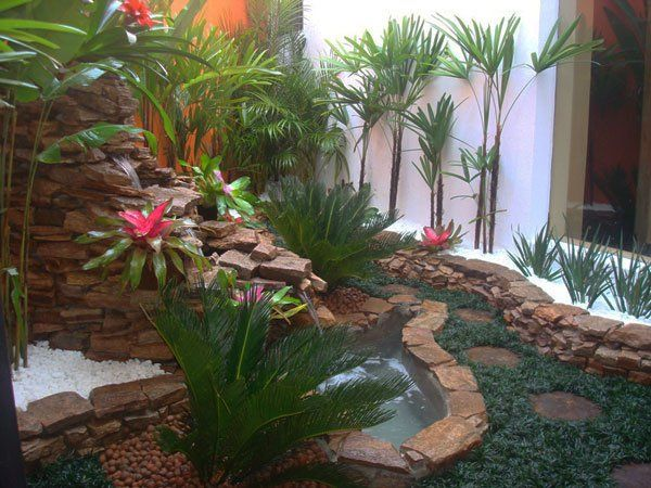 Wunderschöne Garten Ideen - Exotische Pflanzen | Outdoor ... Garten Pavillon Tropische Pflanzen