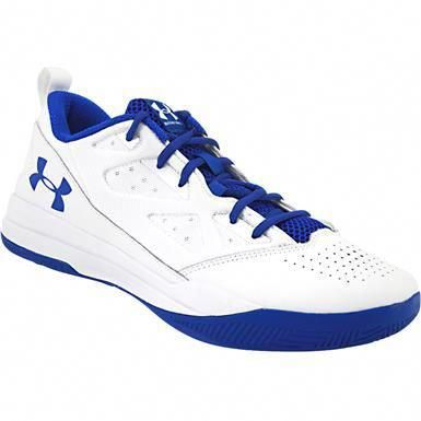 save off 523af 80b38 Under Armour Jet Low Basketball Shoes - Mens White Ultra Blue   basketballonline