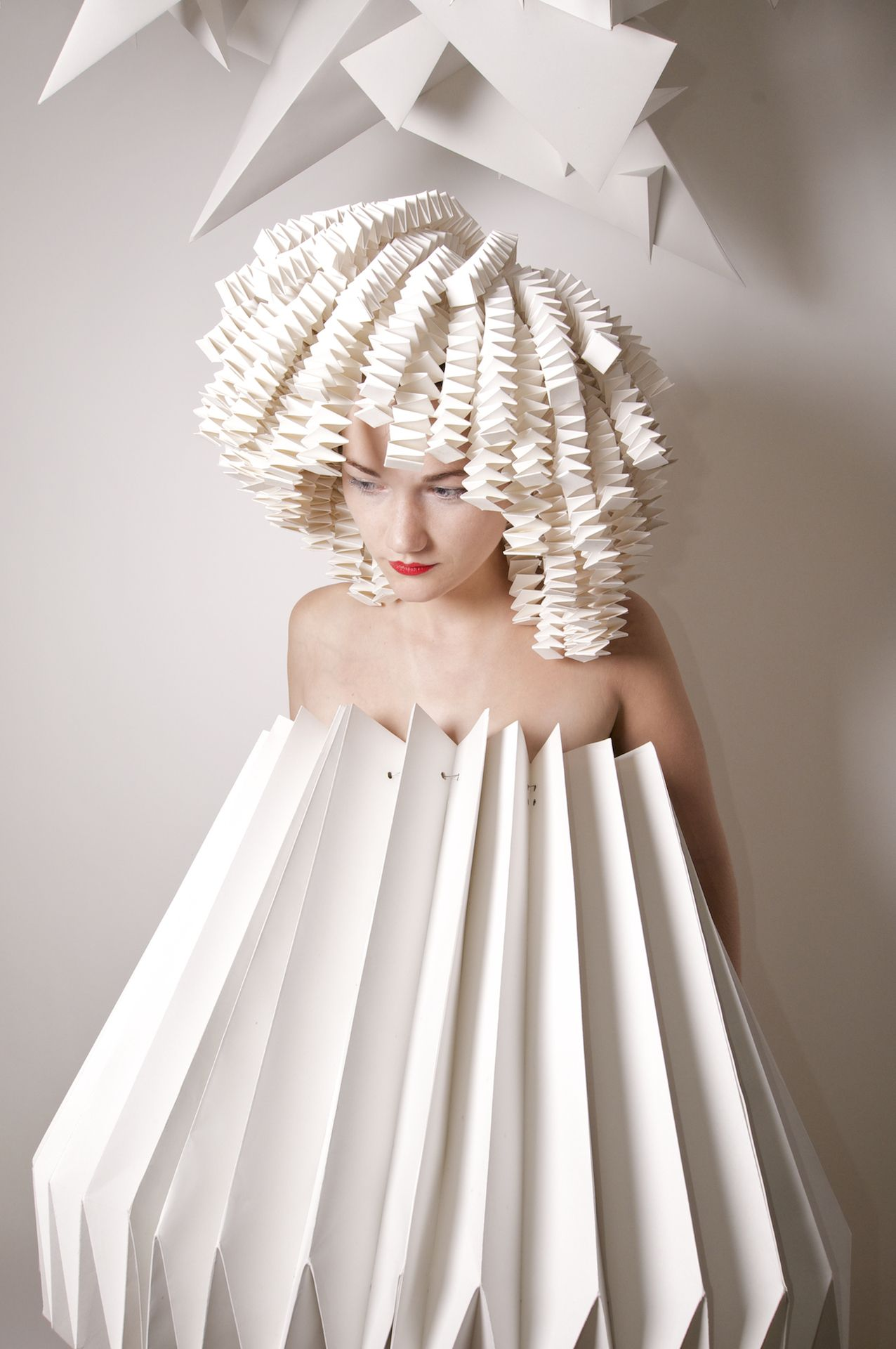 878cbc567c7c DO HAIR FOR IYC ℘ Paper Dress Prettiness ℘ art dress made of paper ...