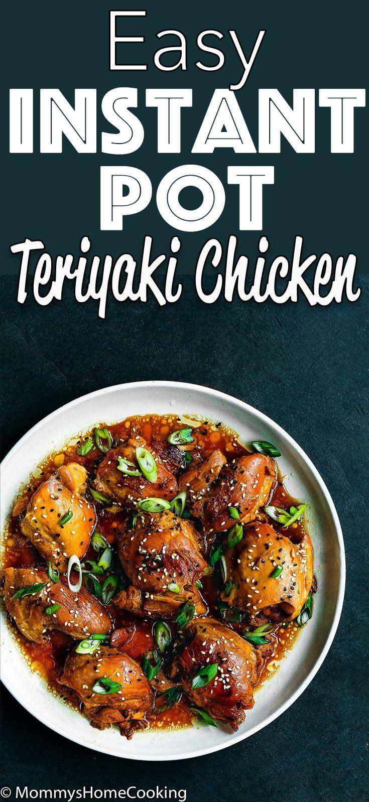 Easy Instant Pot Teriyaki Chicken Recipe #instantpotchickenrecipes