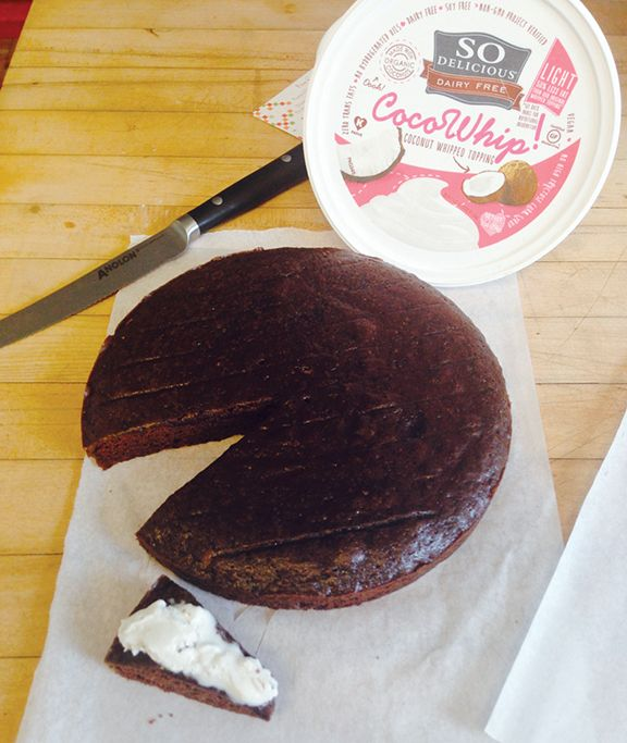 Mother's Day Vegan Chocolate Cake