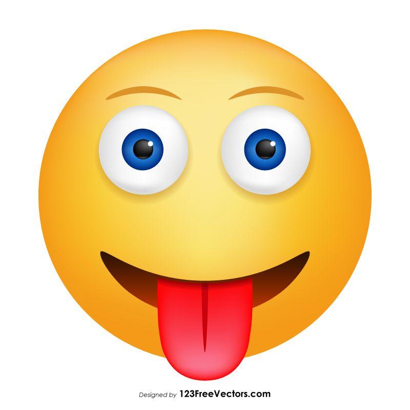 Face With Tongue Emoji Clipart Emoji Clipart Tongue Emoji Emoji