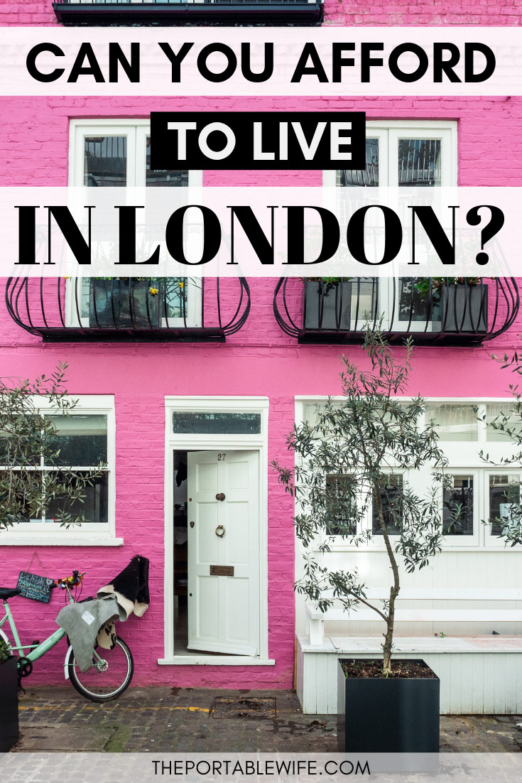Moving to London? Plan your monthly expenses in London with this expat guide! Find out what living expenses in London to plan for, and the average cost of living in London per month. Your London life awaits! #london #londonlife #expat