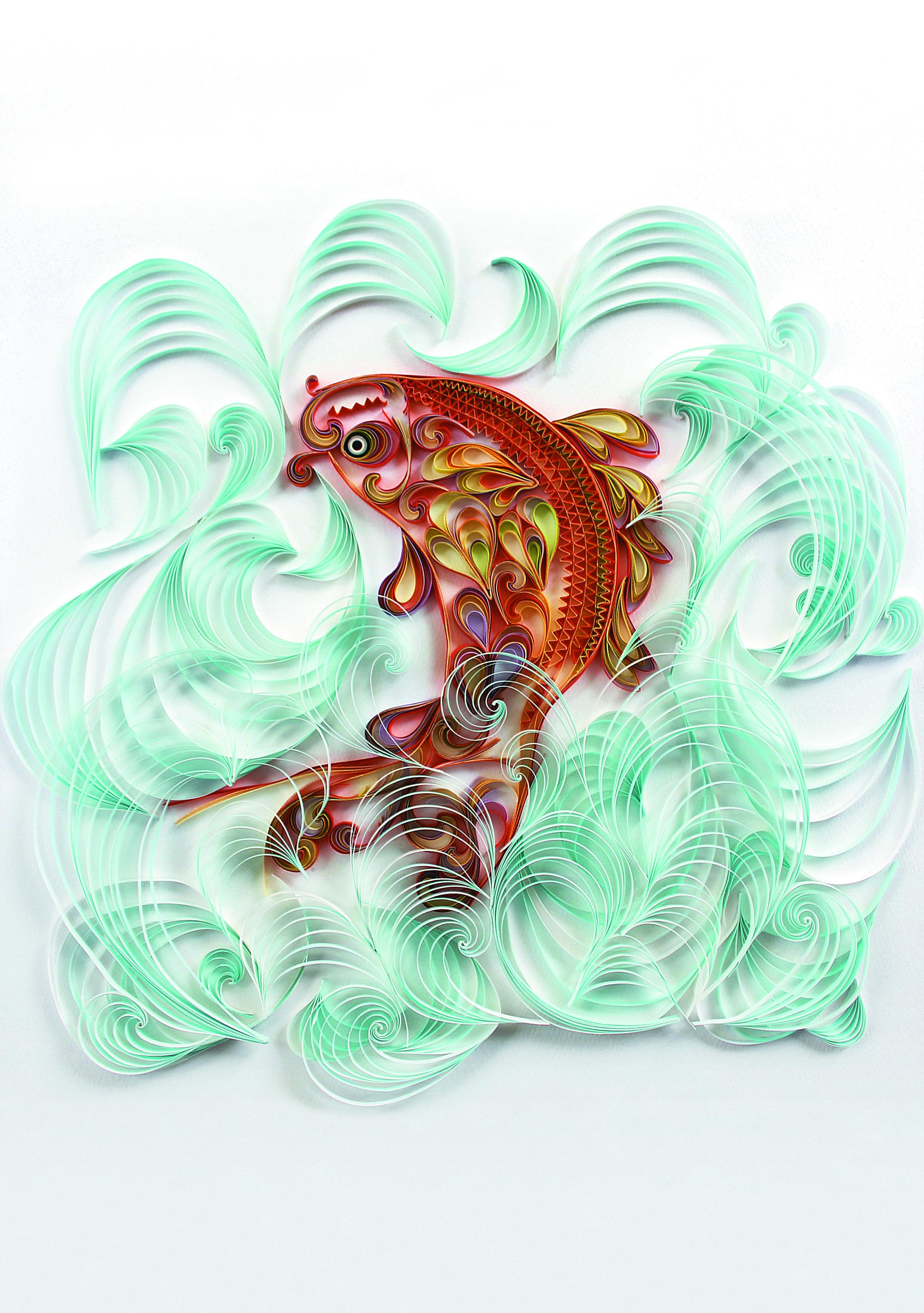 Le Quilling D Inspiration Chinoise Creations En Papier