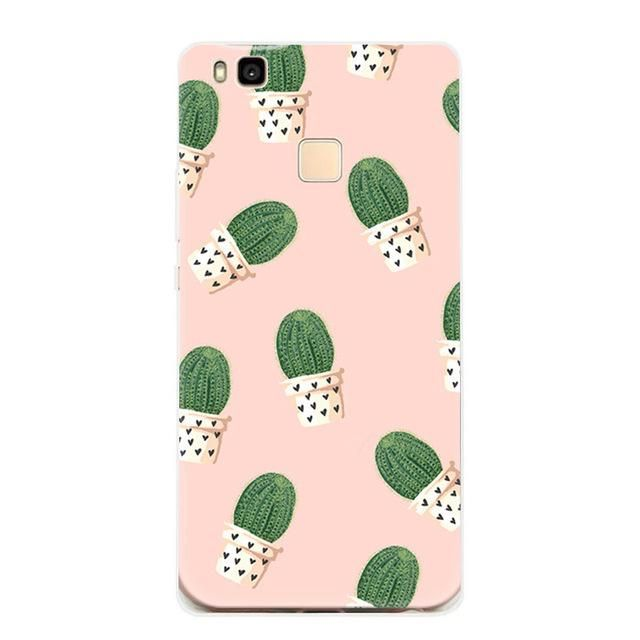 Cases For Huawei P8 lite 2017 Case Soft Silicone TPU Rubber Back ...