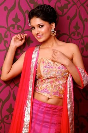 Tv serial actress navel facebook stock