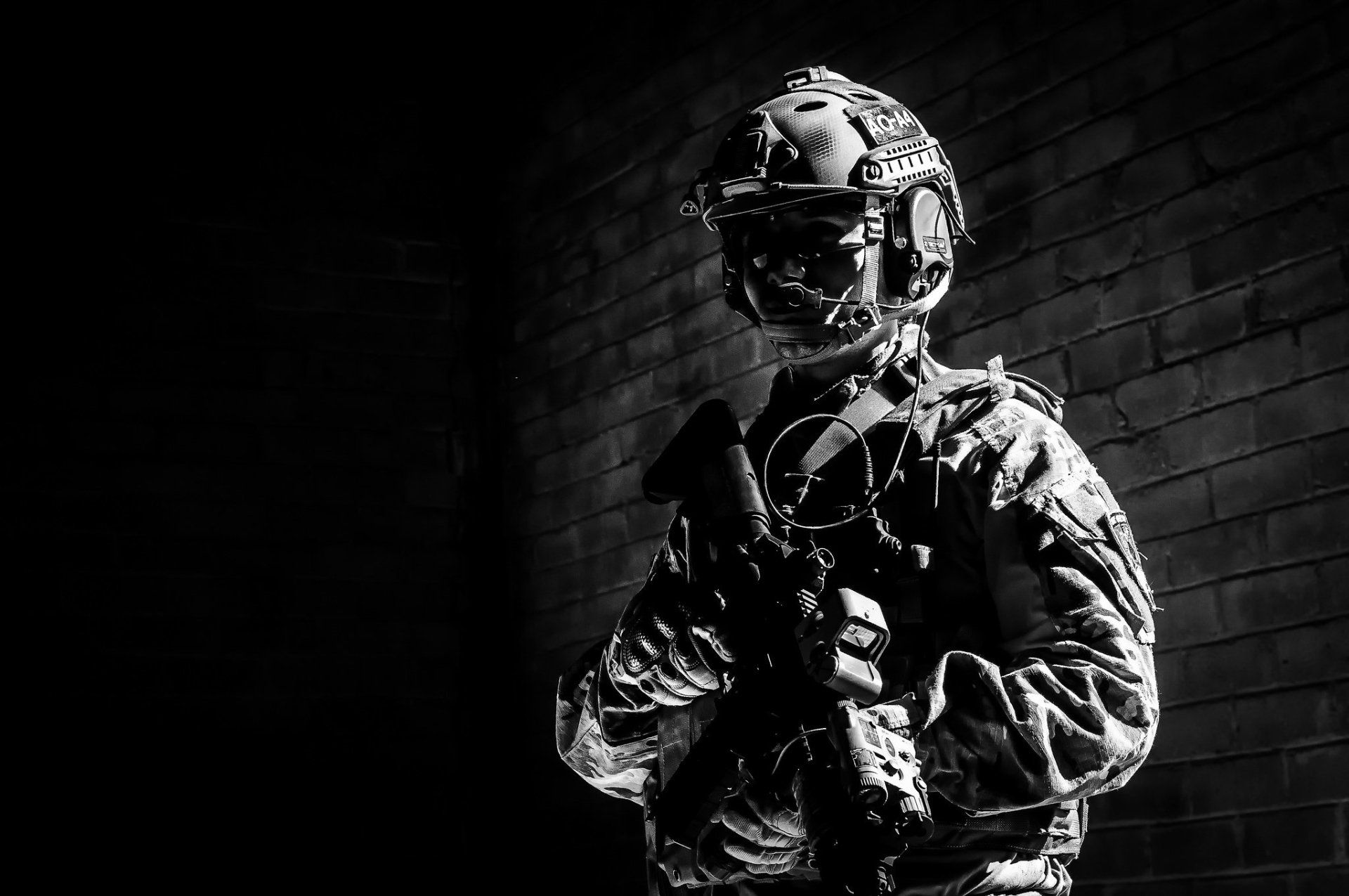 Military Soldier Wallpaper In 2019 Black N White Wallpaper