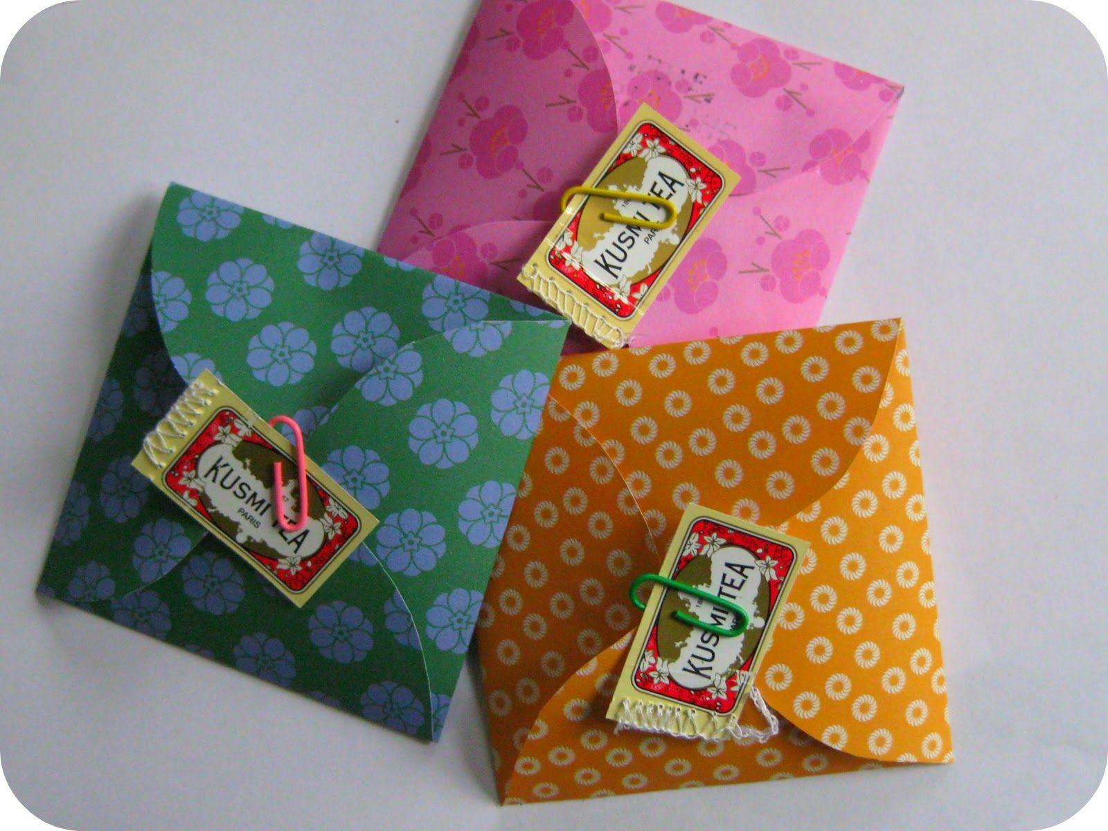 DIY se her hvordan: Fold et The-brev