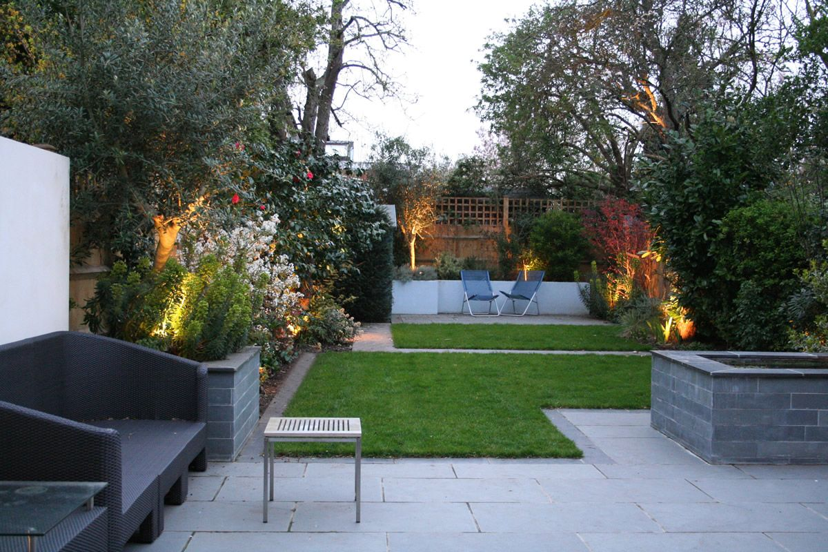 terrace garden layout httpwwwinterior design mag - House Designs With Garden