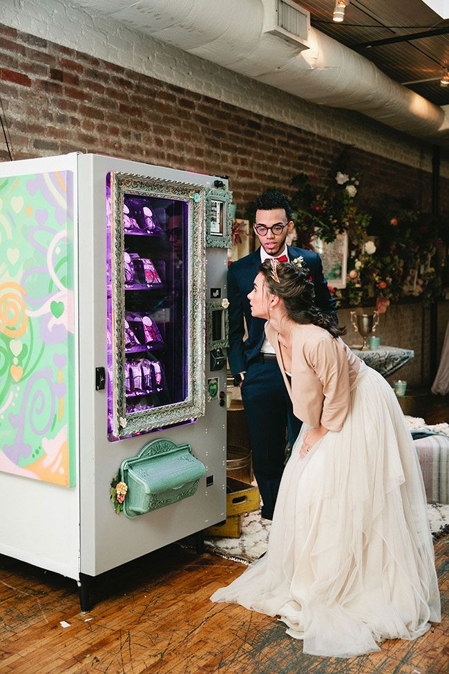 Art School Urban Hipster Wedding Oh So Pretty Pinterest