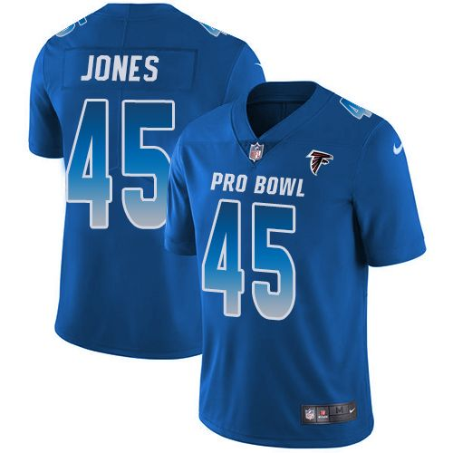 Nike Falcons #45 Deion Jones Royal Men's Stitched NFL Limited NFC  free shipping