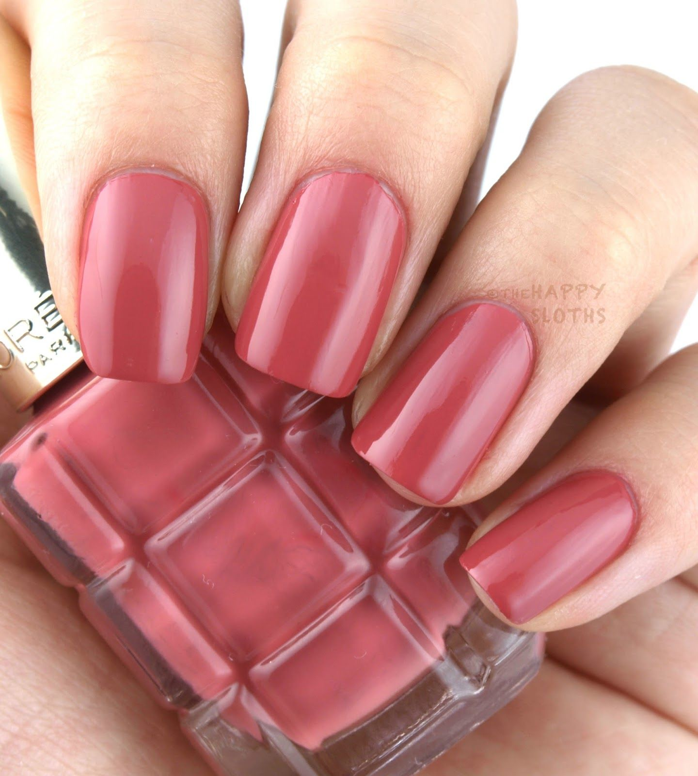 L\'Oreal Color Riche Le Vernis a L\'Huile Nail Polish: Review and ...