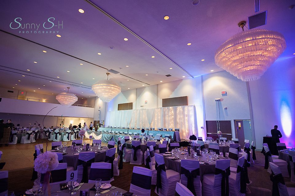 Delta Hotel In Winnipeg Indoor Wedding Reception Venue