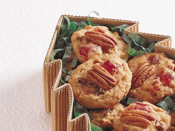 Christmas Fruit Drop Cookies